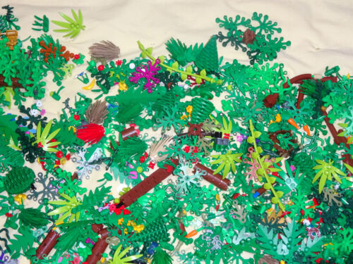 5 Pounds Lego Greenery Pine /& Palm Trees Flowers Leaves Vines Shrubs Landscape!