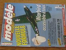 $$w Revue modele magazine RCM N°620 Plan encarte Skybolt  Wizard Expert  P-39