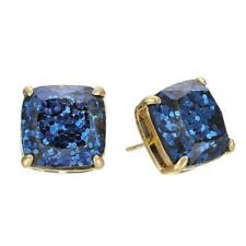 aea06f5738d34 Kate Spade Gold Plated Turquoise Blue Small Square Stud Earrings ...