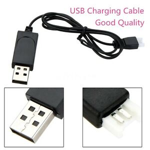 Replacement-USB-Charging-Cable-Black-for-Syma-X11-X5C-RC-Quadcopter-Drone-Part