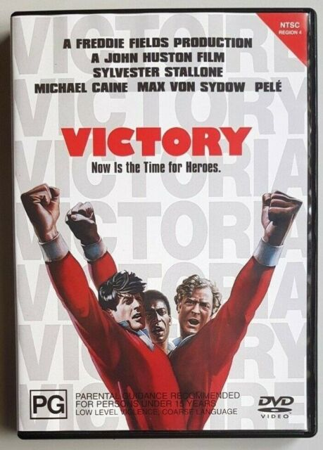 Victory (Michael Caine & Max Von Sydow) DVD **LIKE NEW** (Region 4)
