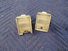 Pair Reverse Lights 1974 1975 Chevrolet Monte Carlo Taillight Back Up Lamps
