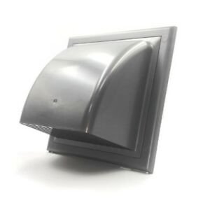 Graphite-Duct-Gravity-Flap-190mm-x-190mm-125mm-Cowl-Air-Vent-Grille