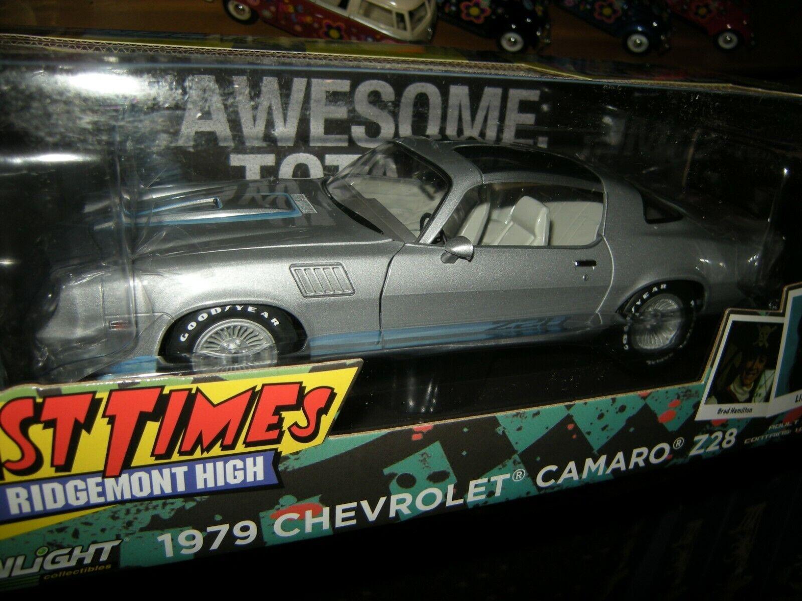 1 18 Greenlight Chevrolet Camaro Z28 1979  FAST Times at Ridgemont High  BNIB