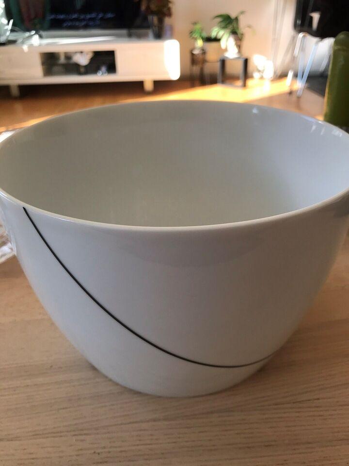 Porcelæn, Skål, Menu