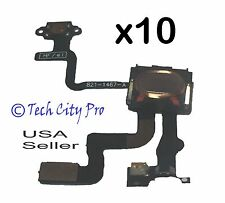 Lot of 10 iPhone 4S Proximity Sensor And Power Button Flex Cable + Earpiece