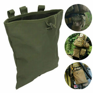Outdoor Tactical Military Hunting Molle Magazine  Ammo Dump Drop Pouch Bag US