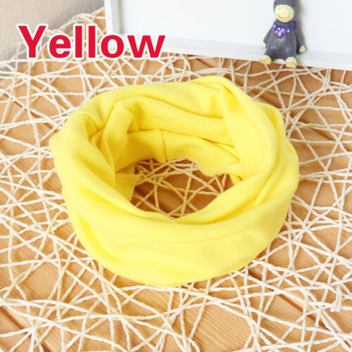 Toddler Kid Boys Girls Baby Windproof Warm O Ring Neck Warmer Wraps Scarves