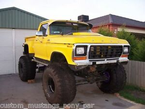 Ford-F150-Stepside-4x4-Monster-Truck-Project-400m-C6-9-034-Lift-F100-F250-Bronco-V8