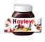 thumbnail 3 - CHRISTMAS Personalised fits Nut Chocolate Spread Jar LABEL Sticker Gift XMAS