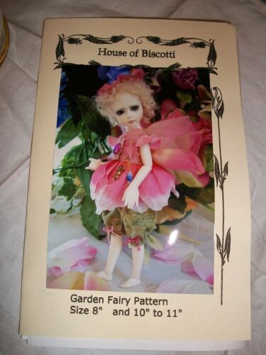 """Elves BJD PATTERN for 8/"""" to 11/"""" Doll  Little Sewing NEW Fairies"""