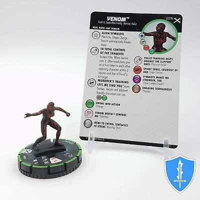 VENOM 001B PRIME Earth X Marvel HeroClix
