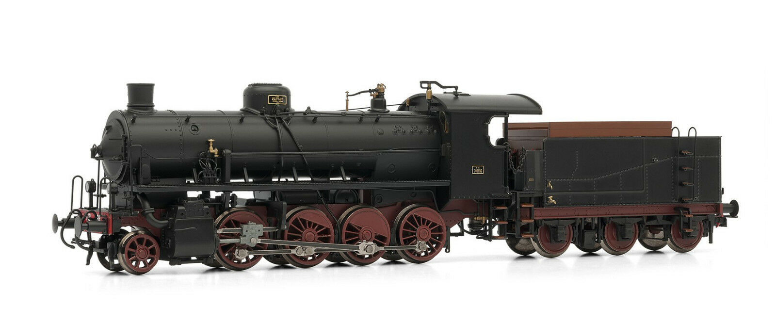 Rivarossi hr2483 damflokomotive 740 696 Caprossoti FS analógico New