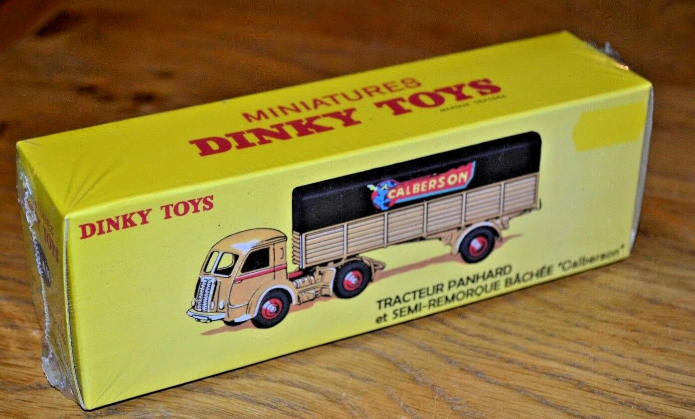 French Dinky Toys Atlas Edition Diecast Panhard Tracteur; 2014; Unopened