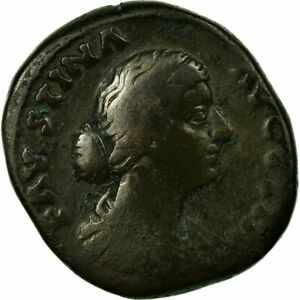 Faustina I Roma #654236 Bc+ Strict As Cobre Moneda