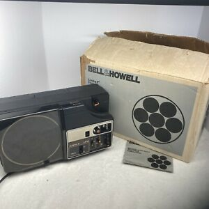 Bell & Howell Lumina II LX38 8mm Film Projector Vintage.