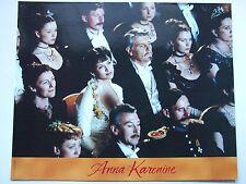 SOPHIE MARCEAU JAMES FOX PHOTO EXPLOITATION LOBBY CARD ANNA KARENINE