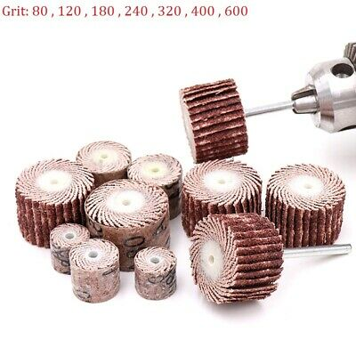 120# Grit Mandrel Mounted Flap Wheel for Rotary Tool