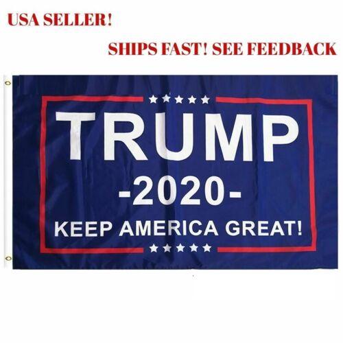 20 Trump 2020 President Donald trump Make America Great 3x5 Ft Flag US