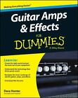 Guitar Amps and Effects for Dummies by Dave Hunter and Consumer Dummies Staff (2014, Paperback)