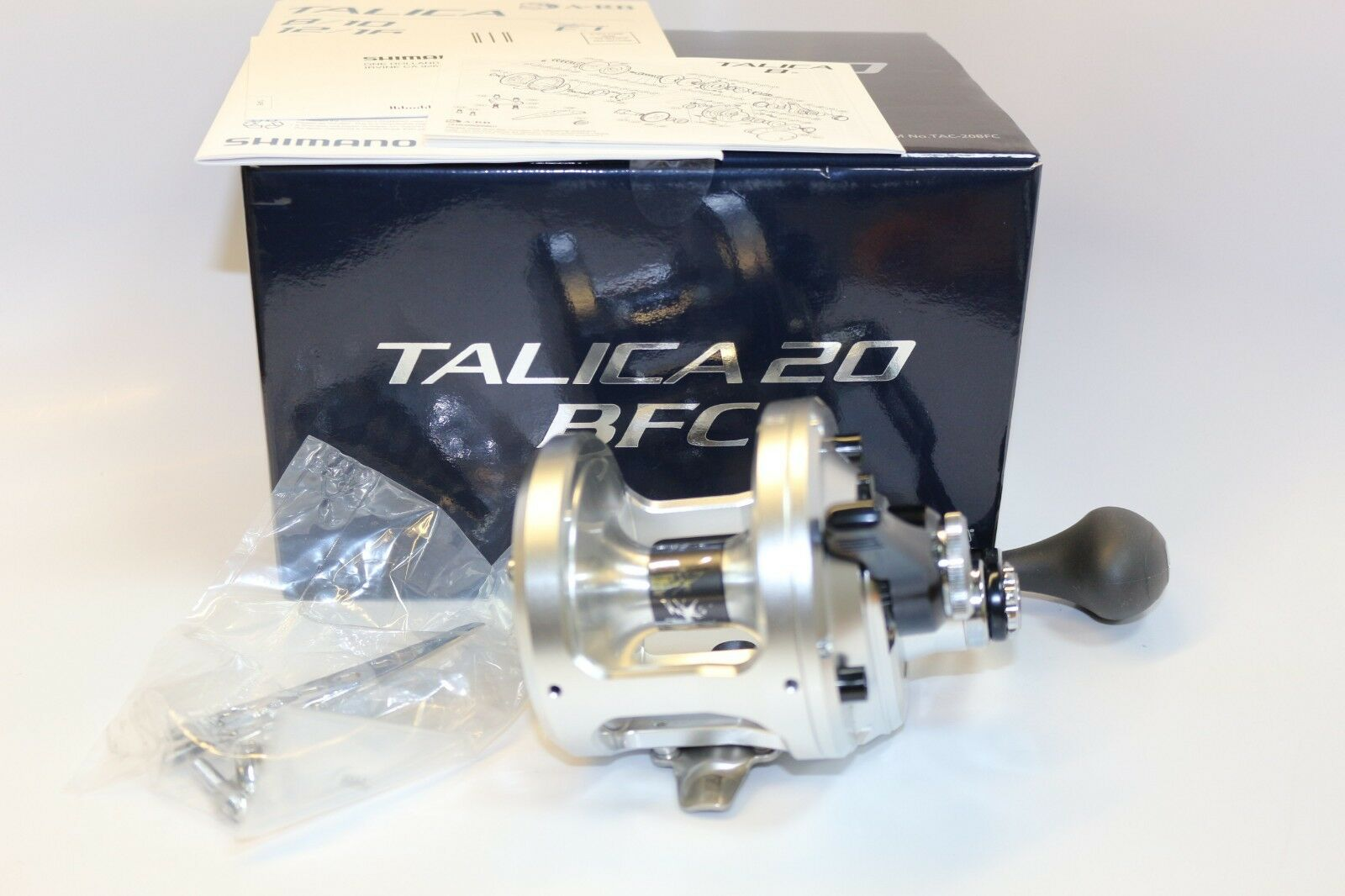 New Shimano Talica 20 BFC Lever Drag Reel   21