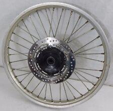 "1985 Honda CR500 Front Wheel, Front Rim Hub 21"" Rim 85 CR 500 Used w Brake Rotor"