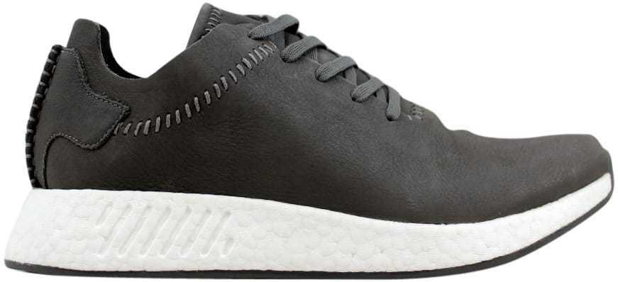 Adidas WH NMD R2 Ash/Ash-Off blanc Wings And Horns Leather BB3117 Men's SZ 5