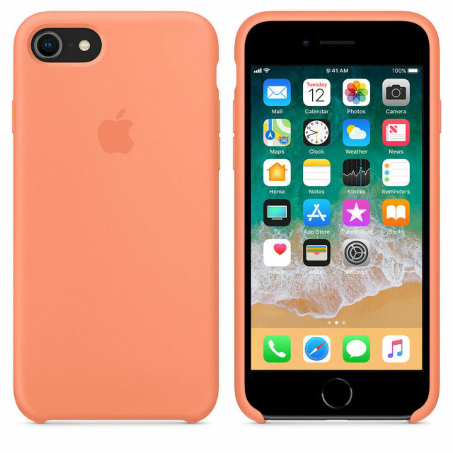 premium selection c0455 3cae0 Apple MRR52ZM/A iPhone 8 7 Silicone Case - Peach Smartphone
