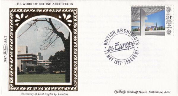(29811) Gb Benham Fdc Architectes En Europe London W1 1987 Bonne RéPutation Sur Le Monde