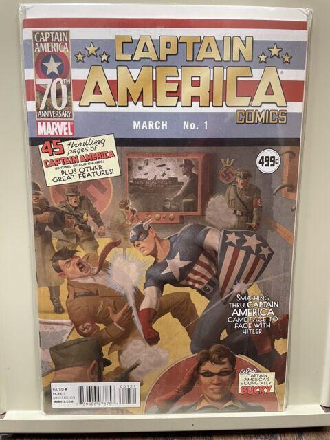 CAPTAIN AMERICA COMICS #1 70TH ANNIVERSARY HITLER VARIANT MARVEL
