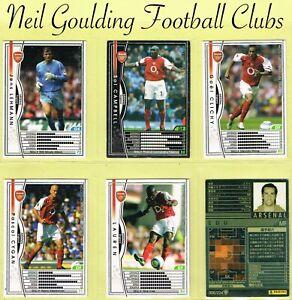 PANINI-JAPAN-WCCF-EUROPEAN-CLUBS-2004-2005-Football-Cards-001-to-224