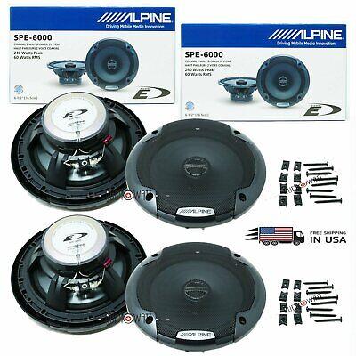 Car Audio Electronics Alpine SPE-6000 6.5 2-Way Speakers pubfactor.ma
