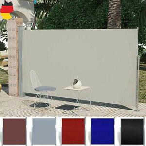Seitenmarkise Ausziehbar Garten Balkon Uv Windschutz Sichtschutz