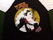 1982 The Cars 3/4 Sleeve Concert T Shirt L Shake It Up True Vintage