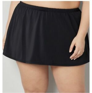 NEW-Avenue-Swim-Skirt-Bottom-Tummy-Compression-Black-or-Navy-Blue-30-32-50