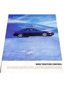 1997-BMW-328i-Sedan-2-page-Vintage-Advertisement-Car-Print-Ad-J406
