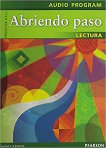 Pearson-Prentice-Hall-Abriendo-Paso-Lectura-Audio-Program-CDs