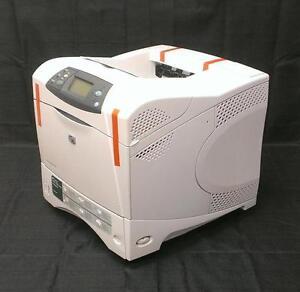 Image is loading HP-Laserjet-4250n-4250 -Laser-printer-COMPLETELY-REMANUFACTURED-