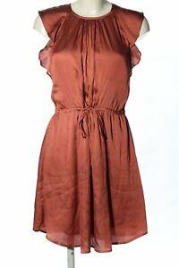H&M Minikleid rot Casual-Look Damen Gr. DE 40 Kleid Dress ...