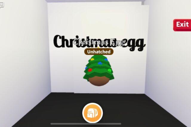 Adopt Me_Christmas egg_rare item! 🥚 | eBay