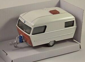 Modern-Caravan-in-bianco-modello-in-scala-1-43-DA-CARARAMA