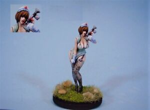 Pinup Architect Woman Model for Kingdom Death Resin Figure