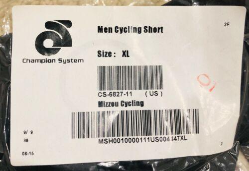University of Missouri Mizzou Champsys Cycling Shorts Men/'s X-Large NWT