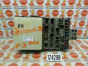 00 01 02 honda accord dx lx driver side fuse box w multiplex 38800 4runner fuse  box 00 accord fuse box
