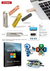 Details about 16G Flash Drive USB Boot Drive software WinPE 10-8 x86 / x64  Hiren's PE 2019 eng
