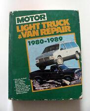 1980-1989 Chevy Ford GMC Dodge Jeep CJ-5 CJ7 Pick Up Van Manual 1500 f150 Truck