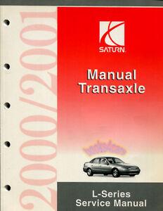 shop manual saturn service repair 2000 2001 book transmission rh ebay com 2001 saturn sc2 service manual 2001 saturn sl1 repair manual