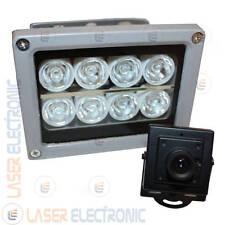 Mini Telecamera DVR 1080p Integrato con Faretto 8 Led Luminosi + SD Card 16GB