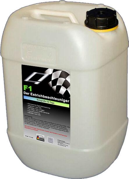 F1 Der-Estrichbeschleuniger-ab 4 Tage -450qm -für 4500kg Zement-nur   qm