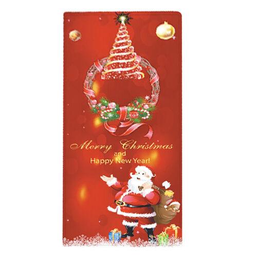 Weihnachten Küchenläufer Teppichläufer Schmutzfangmatte Fußmatte Teppich